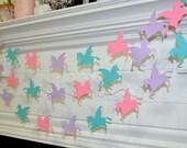 Unicorn Garland, Unicorn theme baby shower, Unicorn birthday banner, Unicorn Display, Unicorn Decoration