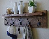 Townsend Coat Rack w/ Floating Shelf