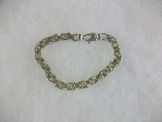 vintage silver italy az bracelet 925 by jewelsandtoolsplus
