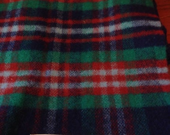 Santiago 100% wool throw 64X57  Made in Mexico