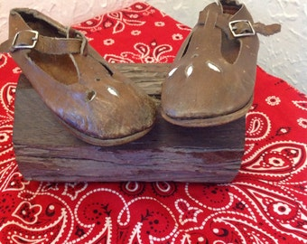 Vintage Leather Toddler shoes