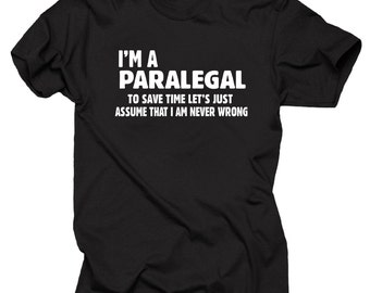 Paralegal T-shirt Gift For Attorney Tee Shirt