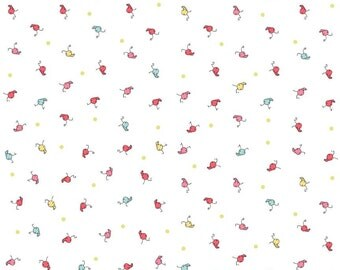 """Riley Blake Designs """"Butterfly Dance"""" by Cinderberry Stitches by Natalie Lymer. 100% cotton"""