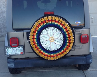 CUSTOM -Tire Cover~ My Happiness. Spare tire cover,wheel cover, Jeep tire cover car accessories RV spare tire covers-Custom