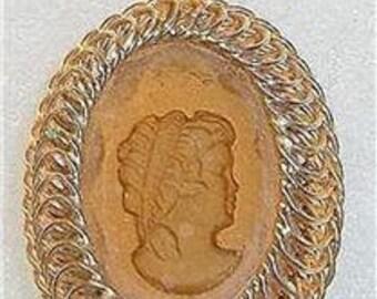 Warner Intaglio  Victorian Style Necklace