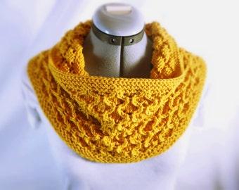 Golden Honeycomb Cowl