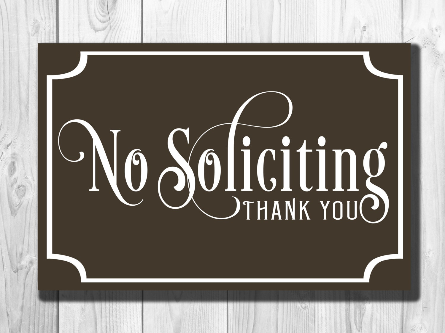 It's just a graphic of Juicy Free Printable No Soliciting Sign