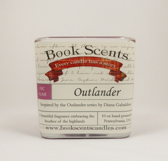 Outlander - Book Inspired Candle - Hand-poured, 10 oz soy blend container candle