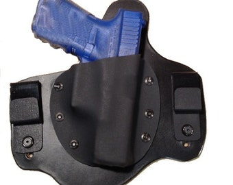 IWB Hybrid Leather and Kydex Holster for Glock 19 23 or 32