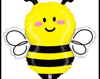 "Big Bumblebee Balloons Great Prices Quality and Service, Bumblee Party Balloon, 22"" Bumblebee Balloon"