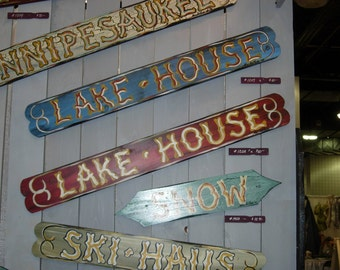 Lake House, Exterior antiqued Codman Claret and Blue available