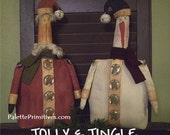 Jolly & Jingle - Instant Download E-Pattern