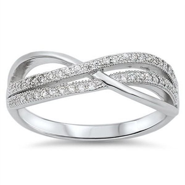 infinity knot crisscross wedding engagement anniversary