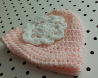 Crocheted Infant hat (0-6 months)