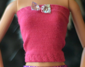 Two Pcs of Tops with ribbon, 2 items