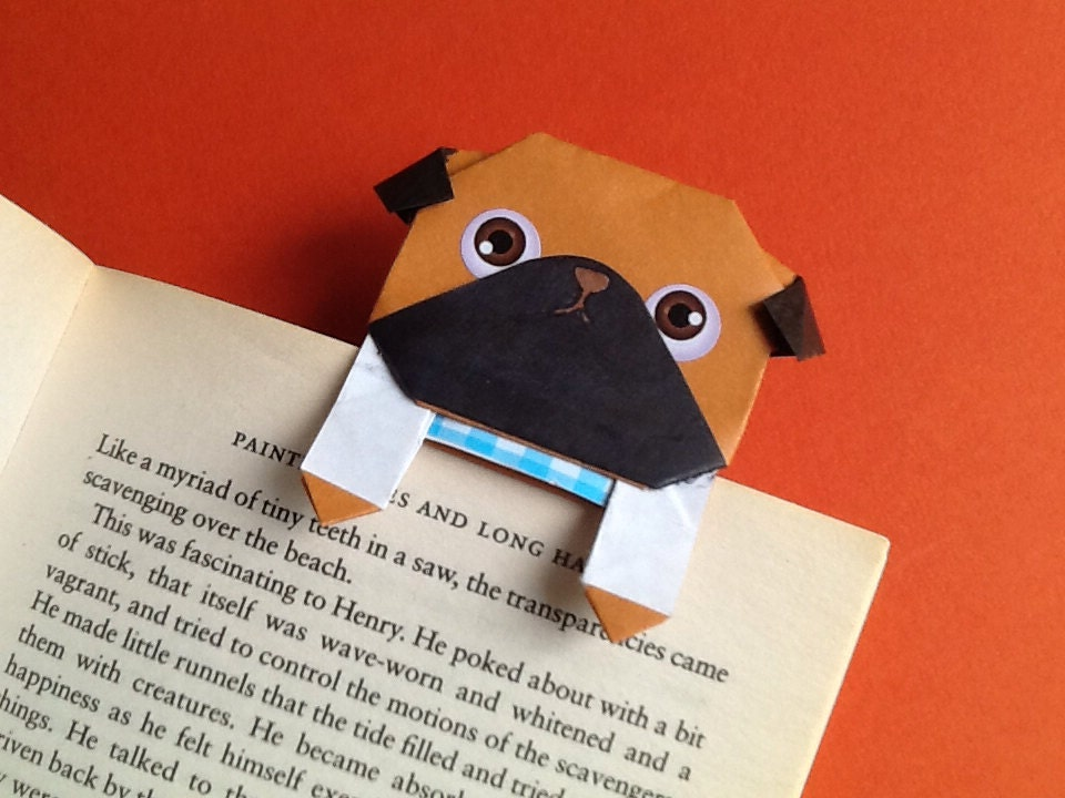 How To Make A Origami Pug