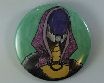"Mass Effect Button - Tali 2"" Pinback Button"