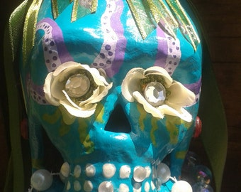 Mermaid Sugar Skull - Melodie