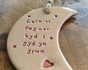 Welsh language gift handmade in Wales