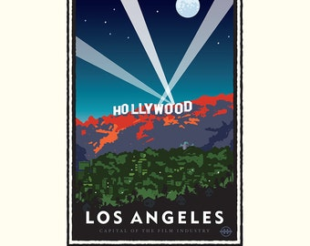 Landmark CA | Hollywood Nights by Mark Herman