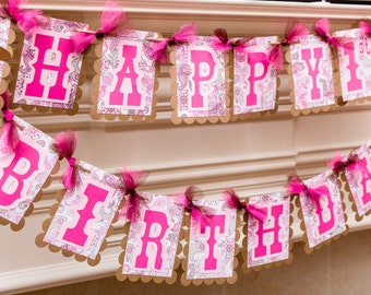 Cowgirl party Banner, Cowgirl Party Decoration, Farm theme party, Barnyard party banner, Western Party, Cowgirl birthday