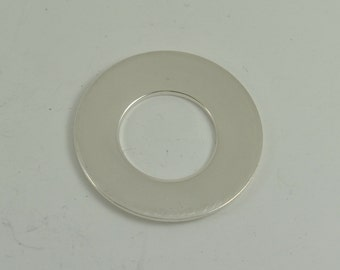 32mm Sterling Silver Washer Blank 1.00mm X 32mm Round