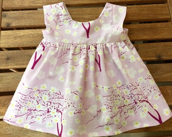 Sweet Little Girl's Swing Top