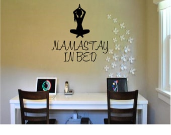 namastay in bed etsy. Black Bedroom Furniture Sets. Home Design Ideas