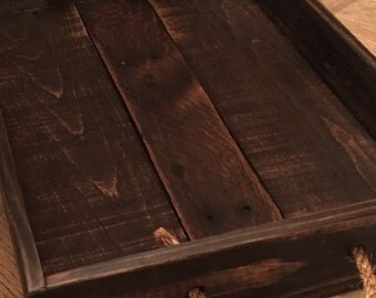 Serving tray/Table tray/Table centerpiece/Wood tray