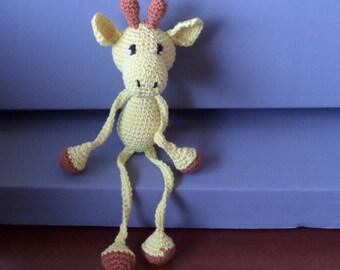 Larry stuffed giraffe