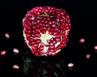 Pomegranate Photography, Wall Art, Home Decor, Office Decor, Still Life