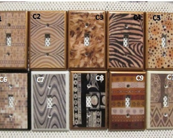 Single Switch Plate/Light Switch Cover _ Set of 10