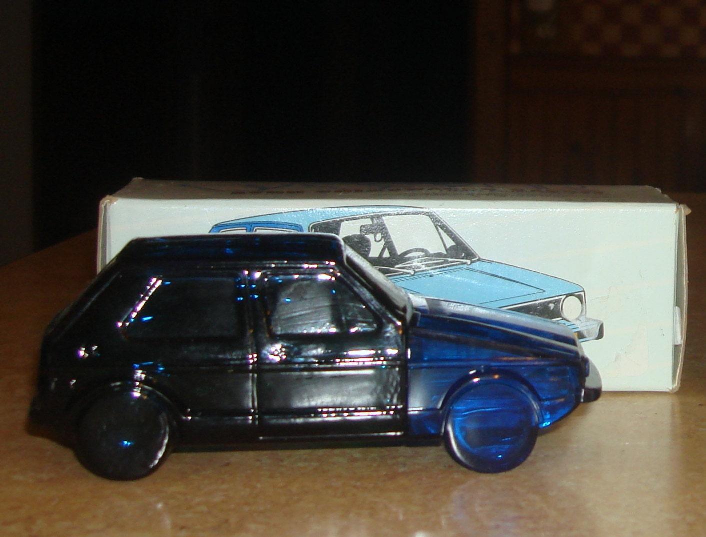 vintage avon volkswagen rabbit cologne decanter in the box. Black Bedroom Furniture Sets. Home Design Ideas