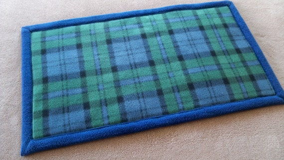 Absorbent Fleece Pet Pad Mat For Guinea Pig Or By Pillowedpaws