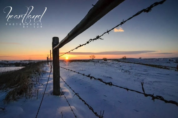 Large Wall Art, Iowa Photography, Winter Print, Snow Photograph, Oversized Images, Extra Large Size, Midwest Photo, Big Nature Landscape
