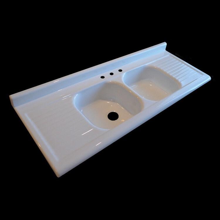 66 x 25 Double Bowl Double Drainboard by nbidrainboardsinks