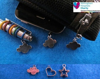 TFIOS charm accessories gift set (pen charm, phone charm and zip pull).