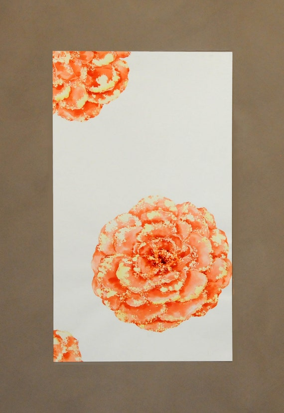 Modern Like this item Top Search - Cool orange flower painting Modern