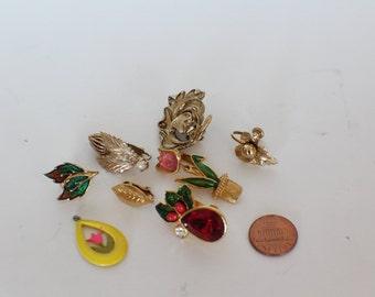 Destash lot of Vintage Earrings