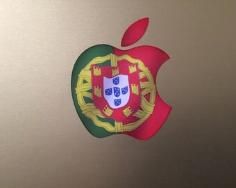 Portugal / Portugese Flag MacBook Decal