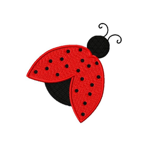ladybug machine embroidery designs