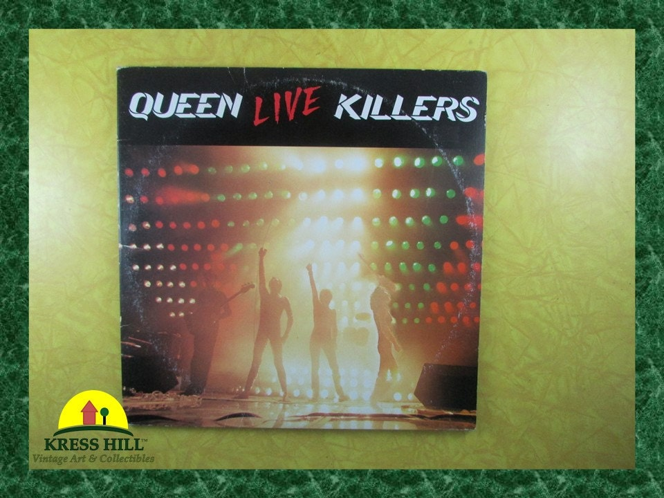 queen live killers vinyl record 1979. Black Bedroom Furniture Sets. Home Design Ideas