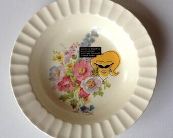 merlene - altered vintage plate