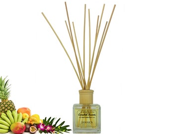Jamaica Glass Reed Diffuser - Gift Boxed