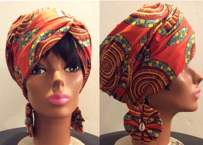 African Head Wrap Natural Hair