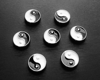 Yin and Yang Floating Charm for Floating Lockets-Gift Idea