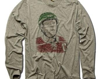 Koivu Officially Licensed NHLPA Minnesota Long Sleeve Shirt S-3XL Koivu