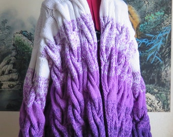Wonderful knitted cardigan style lalo