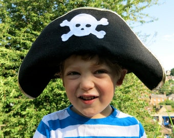 Pirate hat, Red or Black