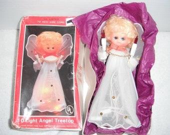 Christmas Angel Tree Top 1 Light Angel, Christmas Treetop, Christmas Decoration